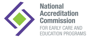 National Accreditation Commission for Early care and Education programs logo